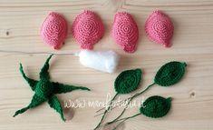 Watch The Video Splendid Crochet a Puff Flower Ideas. Phenomenal Crochet a Puff Flower Ideas. Crochet Puff Flower, Crochet Flower Tutorial, Crochet Leaves, Crochet Flowers, Crochet Flower Patterns, Baby Knitting Patterns, Crochet For Beginners, Crochet Gifts, Crochet Projects