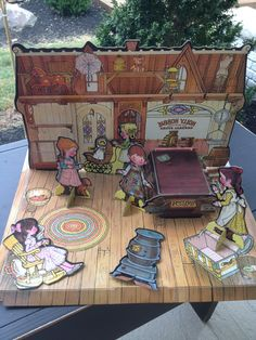 Vintage Holly Hobbie Colorforms, 1976, Old Fashioned General Store. We had this!