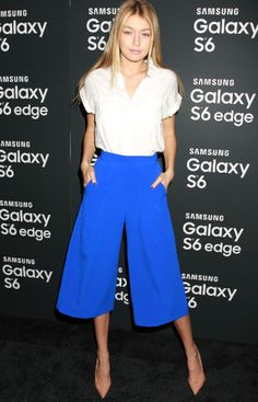 How To Wear Culottes Outfit Casual Street Styles 68 Ideas Fashion Mode, Look Fashion, Fashion Styles, Fashion News, Style Casual, Casual Chic, Culotte Style, Culotte Pants, Style Gigi Hadid