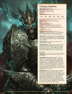 Dungeons & Dragons — Some undead creatures. Dnd Dragons, Dungeons And Dragons 5e, Dungeons And Dragons Homebrew, Dungeons And Dragons Characters, Dnd Characters, Fantasy Creatures, Mythical Creatures, Dnd Stats, Dnd Stories