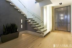 Floors, staircase, baseboards