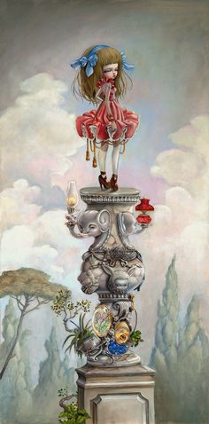 Pop Surreal Art Inspired by the French Aristocracy by Nataly (kukula) Abramovitch