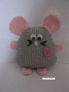 souris, tricot:
