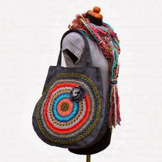 innovart en crochet: Crochet con bolsos y tacones