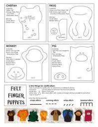 תוצאת תמונה עבור free patterns for puppets with mouth