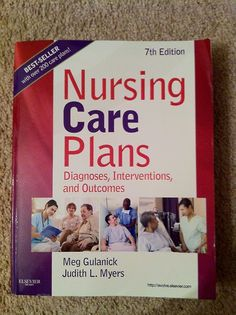 This book is my saving grace!!! It really makes writing care plans easy. As long as I site this book (and has to do with my patients conditions), I can use the nursing diagnosis, plans, related to, manifestations, and  implementations to my hearts content. LOVE IT!!! You can buy this book from Amazon HERE