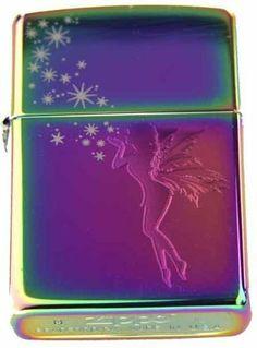 Zippo Custom Ligher - Tinkerbell Stardust Fairy Spectrum, New for 2011 Logo by Zippo. $38.46