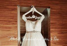 Cabide para vestido de Noiva Ateliê Romântico Yes, I Do