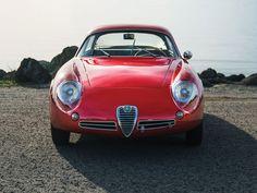 Zagato-designed 1962 Alfa Romeo Giulietta SZ II is (photo: Andrew Schneider)