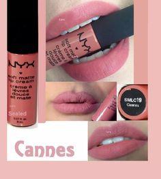 NYX Soft Matte Lip Cream in Cannes - Google Search