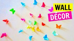 DIY Paper Butterfly Wall Decor | How to Make an Origami Butterfly