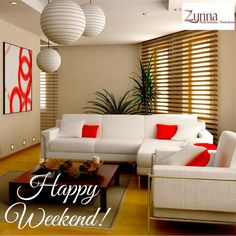 Spend this weekend with your BELOVED HOME! Happy Weekend.  #homeimprovement #HappyWeekend #homedesign