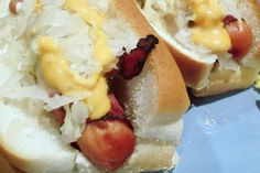 Make and share this Reuben Dogs recipe from Food.com.