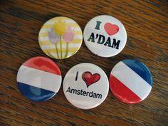 Amsterdam badges badges button badges pin badges chapas insignias