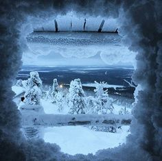 Winter magic in Levi, Lapland, Finland. By marja.repo