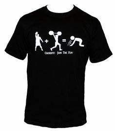 CROSSFIT : Join The Fun Mens t-shirt kettlebell puke cross fit
