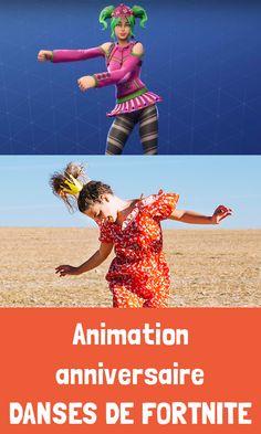 """Festimini🎉vous présente sa nouvelle animation d'anniversaire : """"LES DANSES DE FORTNITE"""", 🔫 inspirée du célèbre jeu vidéo🎮 Fortnite et de ses fameuses danses de la victoire, phénomène des cours de récré ! 🦹♂️  Du fameux dab, en passant par l'Electro shuffle, le Flossing, le Gangnam style, il y'a de quoi danser🕺avec Festimini🎉!! 📣 Start ! Ready ? Dance !! 🥳🎶 Movies, Movie Posters, Style, Video Game, Birthdays, Children, Swag, Film Poster, Films"""