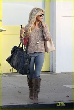 Ashley Tisdale. She's my style icon.