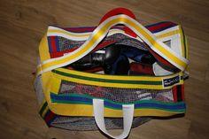 Handmade, Multi, re-cycled Martial Art Belts, Training. Sparring, Kit bag, 607