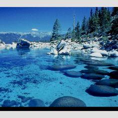 Lake Tahoe again, but during winter (: