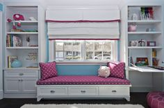 I like the idea of building in a daybed...