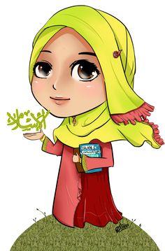 118 Best Dviana Muslimah Images Islamic Hijab Cartoon Hijab Drawing