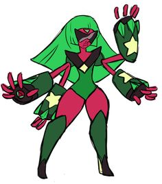 I think garnet and peridot would be more unstable of a fushion