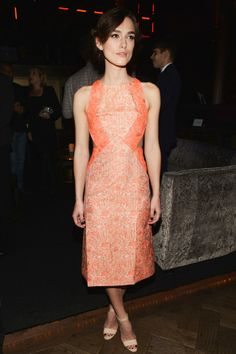 Kiera Knightley in Richard Nicoll at the after-party of the Anna Karenina LA premiere.
