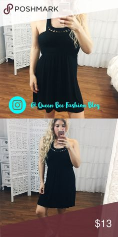 """🎀GUESS CROTCHET HALTER MINI COTTON DRESS Super cute cotton dress. size M. 95% rayon, 5% spandex. Pre-loved! 💕 no signs of wear. Bust: 30"""" unstretched, length: 28"""".    🎀""""Add to bundle"""" to add more items from my closet or """"Buy"""" to checkout now.  🎀Get to know me! 💗Showing you how to style your looks at www.Queenbeefashionblog.com SUBSCRIBE.   🎀 Let's be friends! Follow me on Instagram @queenbeefashionblog Guess Dresses Mini"""
