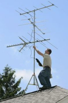 Rooftop TV Antenna