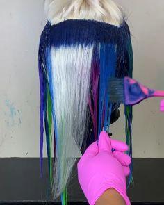 gamay hair human hair wigs #laceclosure #glueless #laceclosuresewin #swipe #sewin #closure #jacksonvillehairstylist #jacksonvillestylist #jaxhairstylist #closureinstall #deepwave #closuresewin #gluelessclosure Exotic Hair Color, Beautiful Hair Color, Cool Hair Color, Dyed Natural Hair, Dyed Hair, Creative Hair Color, Hair Dye Colors, Human Hair Lace Wigs, Wig Hairstyles