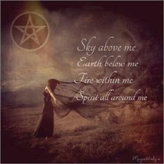 Pagan. Wiccan