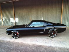 American Muscle Cars…  S-Code 1967 Mustang GT Fastback   One beautiful car : )
