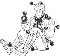 geolu: From a 1 like = 1 Reaper bird on Soldier 76 post on twitter.