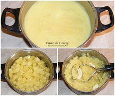 Piure de cartofi Mashed Potatoes, Ethnic Recipes, Food, Chicken, Whipped Potatoes, Smash Potatoes, Essen, Meals, Yemek