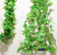 Aliexpress.com : Buy Bindweeds rattails silk plants home  radiator air tube decoration  free shipping  2.4M long 1500pcs leaves NO flower  from Reliable loofah suppliers on Lore 's Decoration Flowers Store. $33.99