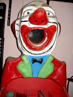 luluzinha kids ❤ parque de diversões - vintage clown game