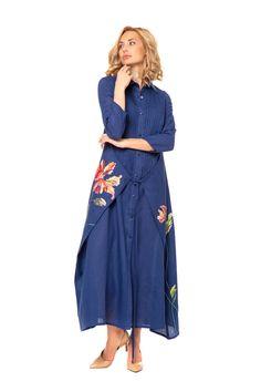 """Платье """"Вера"""" - Юкостайл. Магазин дизайнерской одежды оптом и в розницу."""