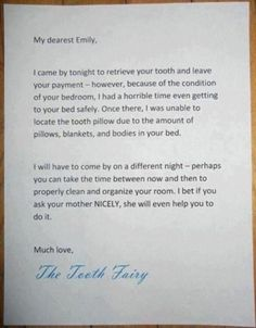 The mom who wrote this letter: | 23 Parents Who Got The Last Laugh