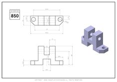 Cad Cam, Drawing Exercises, Cad Drawing, Drawing Practice, Autocad, My Drawings, 2d, Engineering, Digital