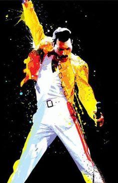 Cool Freddie painting