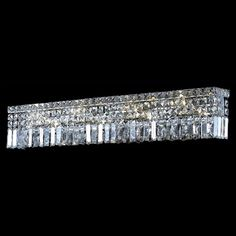Bathroom light fixture they said from overstock house rectangular with dangling crystals for bathroom mirror home wall lighting bathroom vanity lights mozeypictures Images