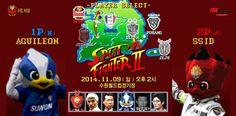 'SPLIT A FIGHTER II' FC서울 vs 수원 2014 K리그 클래식 #fcseoul #football #soccer #sports #poster #design