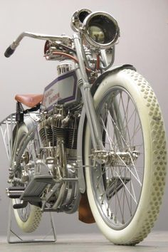 """Harley Davidson 1915 """"11F"""" 989 cc IOE V-twin engine # 2182K The year 1915 was unique in the history of Harley-Davidson. For the first time a three speed countershaft gearbox was fitted and the engine power output grew from 9 HP @ 2400 rpm to 11HP @ 3000 rpm. To accommodate the larger dimensions of ... Read more"""