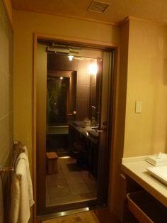 "Mezzanotte, Camera di ""Takinoie""(Hotel), Noboribetsu-Onsen(Terme), Hokkaido Japan"