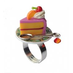 Kookie Couture Slice O' Cake Ring