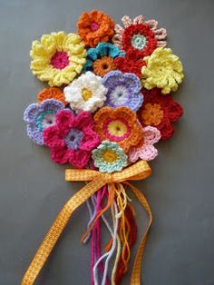 Franciens crocheted: Flowers