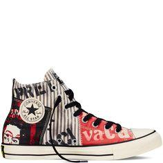 0b7c0454066d6 Converse - Chuck Taylor All Star Sex Pistols - White - Hi Top Chuck Taylor  Sneakers
