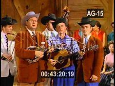 BILL MONROE & HIS BLUEGRASS BOYS first ever filmed