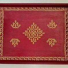 Rangoli Designs Flower, Rangoli Border Designs, Rangoli Designs Images, Flower Rangoli, Beautiful Rangoli Designs, Backdrop Decorations, Paper Decorations, Decoration Crafts, Free Hand Rangoli Design
